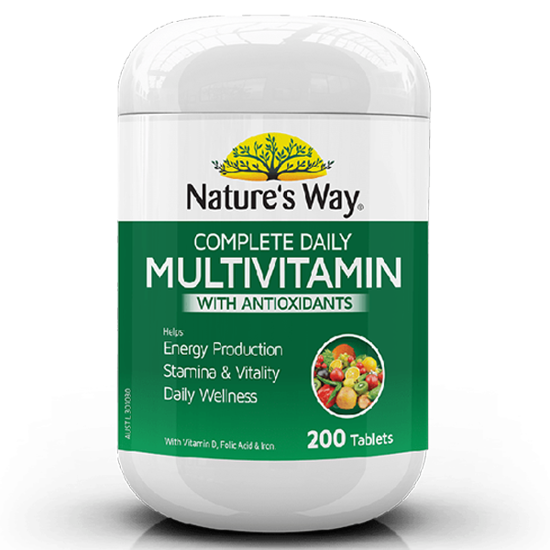 Nature's Way Complete Daily Multivitamin