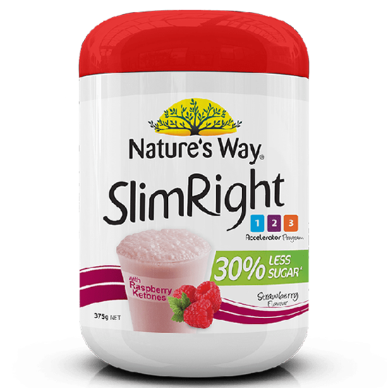 Nature's Way SlimRight Shake Raspberry